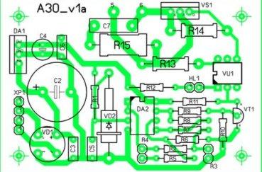 Схема 1 для самодельного регулятора