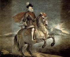 Конный портрет короля Филиппа III