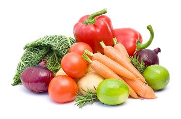 Различные овощи из питания кролей