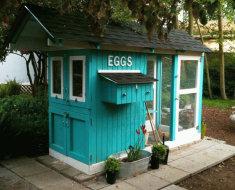 Очень красивый дом для кур
