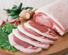 Свиное мясо после применения биодобавок