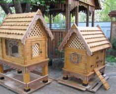 Два домика для кур