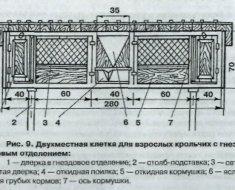 Схема для конструкции с маточником