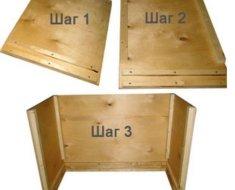 Изготовление брудера, шаги 1-3