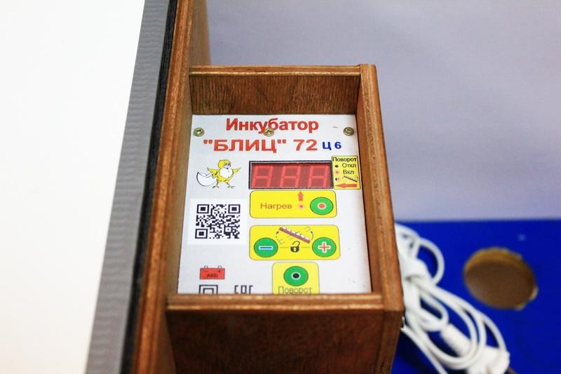 Дисплей автоматического инкубатора