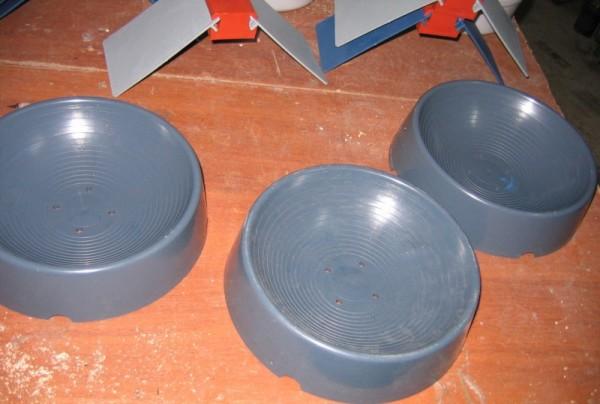 Круглое гнездо для голубей из керамики