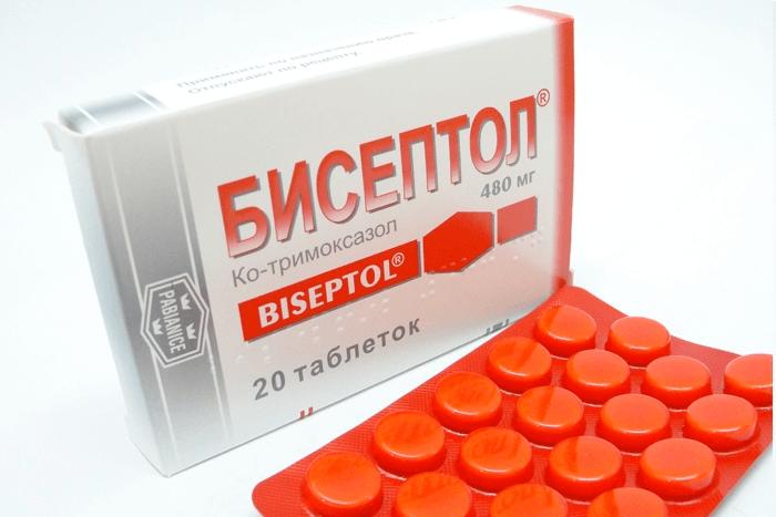 Таблетки Бисептол для лечения диареи у кур
