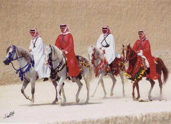 Бедуины на своих конях