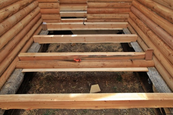 Фундамент для деревянного пола