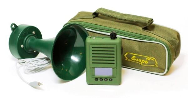 Электрический манок с рупором и чехлом