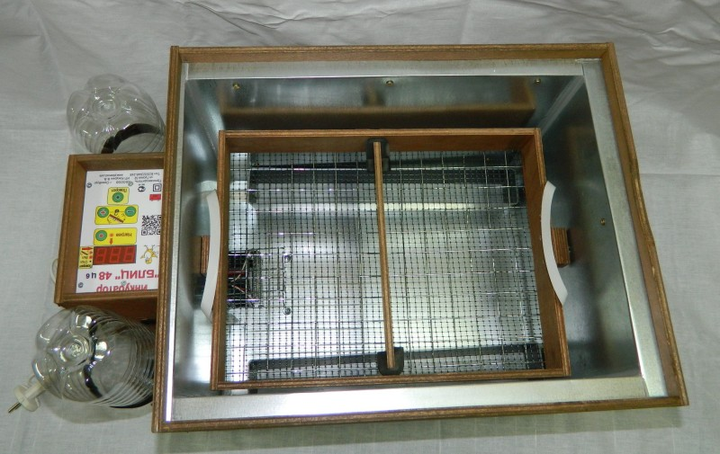 Внутренний отсек инкубатора