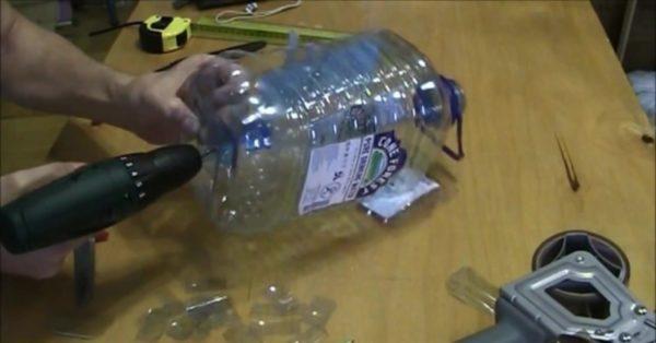 Изготовление из пластиковой бутылки