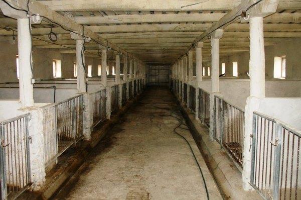 Загон для содержания домашнего скота
