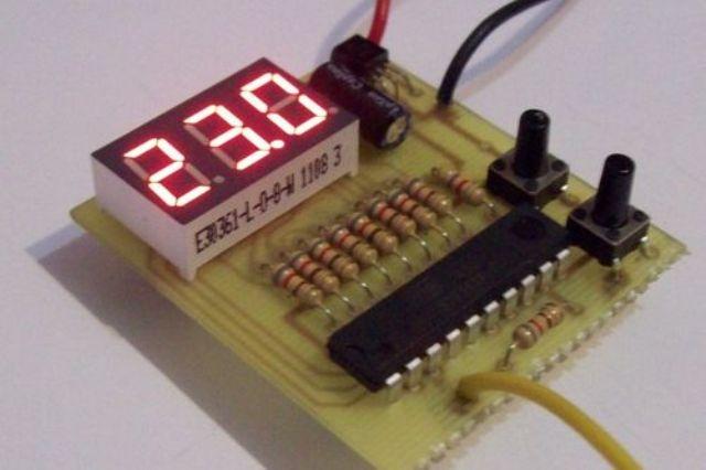 Самодельный терморегулятор с датчиком