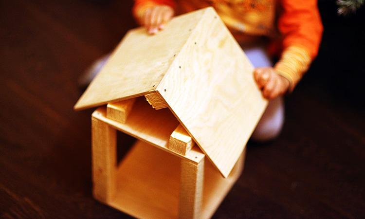 Монтаж крыши на конструкцию